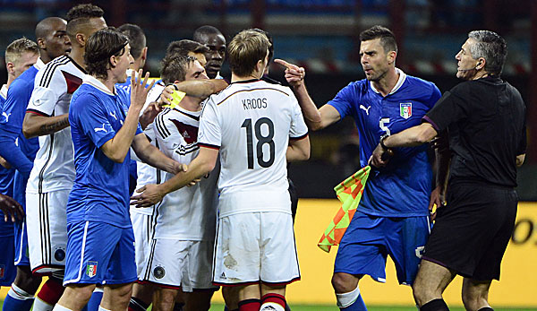 Italien Fussball Lustig