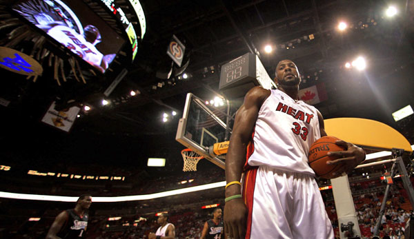 Alonzo Mourning, Miami Heat, NBA