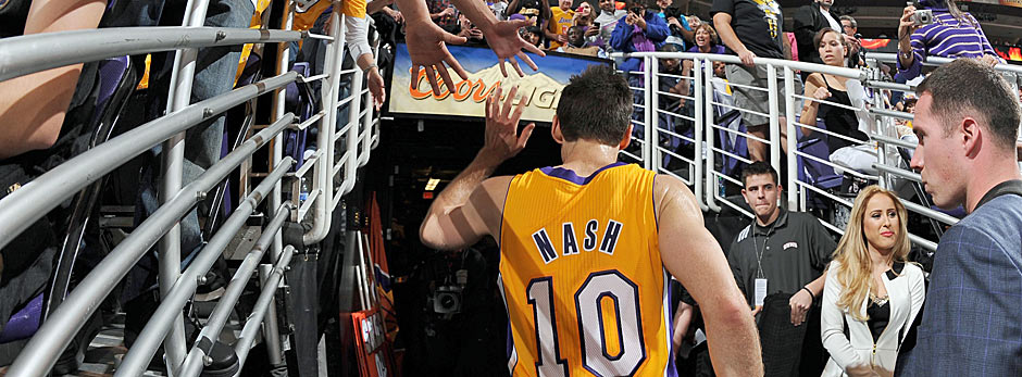 Steve Nash, Los Angeles Lakers