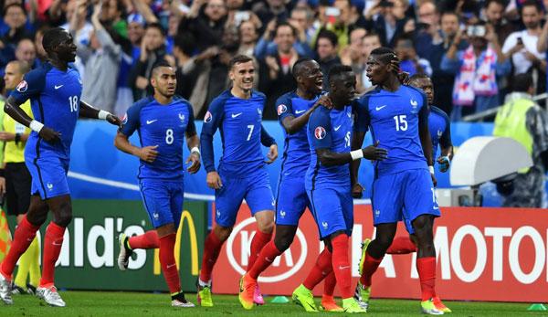 EM-2016: Viertelfinale: Frankreich - Island