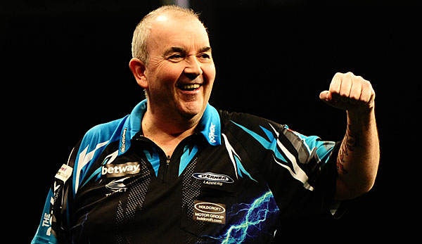 Phil Taylor trifft im Finale auf Peter Wright
