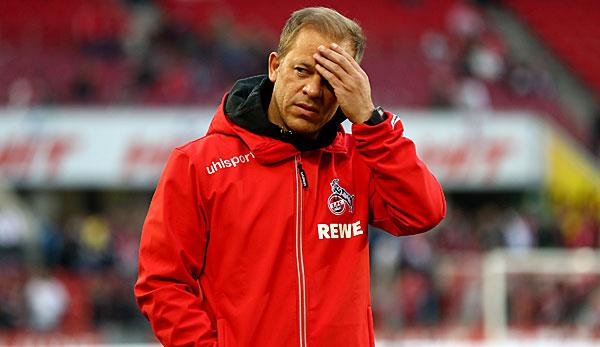 Markus Anfang steht beim 1. FC Köln wieder vermehrt unter Druck.