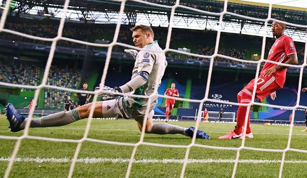 FC Bayern Gegen Olympique Lyon Champions League