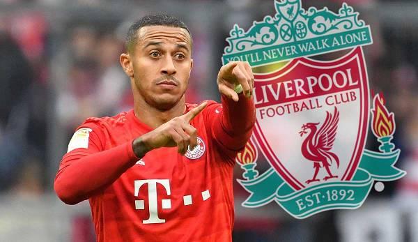 Steht offenbar doch kurz vor einem Wechsel zum FC Liverpool Bayern Münchens Noch Mittelfeldstratege Thiago