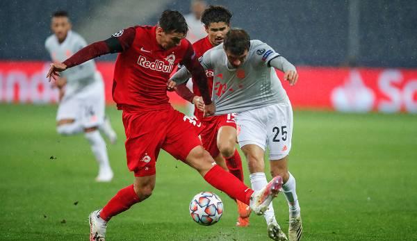 Wöber, Müller en duel