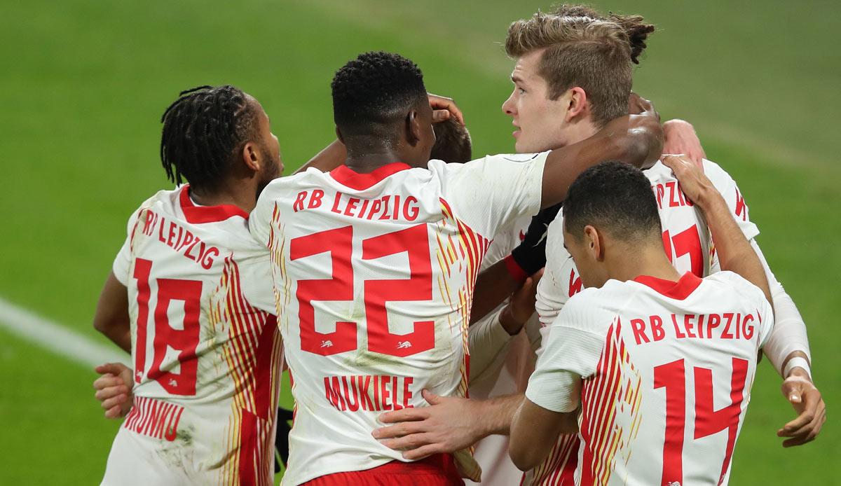 RB Leipzig - VfL Wolfsburg: Viertelfinale im DFB-Pokal - Das 2:0 zum Nachlesen im Liveticker
