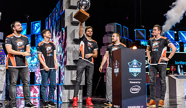 Die Gewinner in Hamburg: Team Virtus.Pro