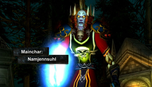 Als Namjennsuhl ist Jens Uhlmann in World of Warcraft unterwegs