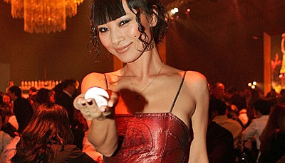 Die chinesicher Schauspielerin Bai Ling (Star Wars, Wild Wild West) auf der Lakers Casino Night in Santa Monica