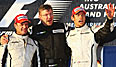 Brawn GP, Barrichello, Button