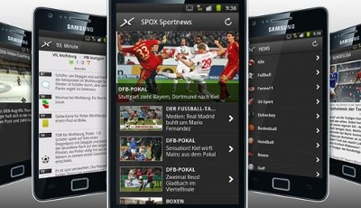 SPOX, Android App, Sportnews, Update, Liveticker
