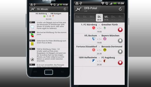 Em Live Ticker App