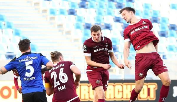 Dynamo Dresden unterlag dem 1. FC Saarbrücken am vergangenen Spieltag knapp mit 1:2.