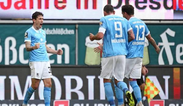 Philipp Steinhart hat das 1:0 für 1860 München erzielt.