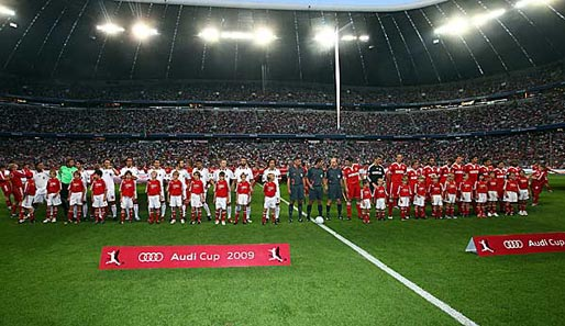 Spielplan audi cup 2020