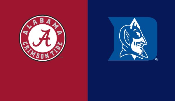 Alabama @ Duke am 31.08.