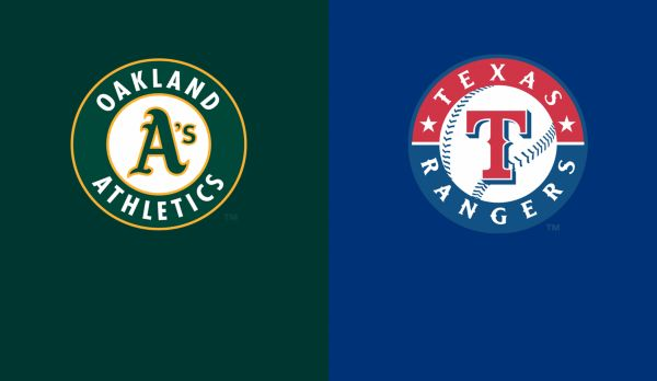 Athletics @ Rangers am 24.04.
