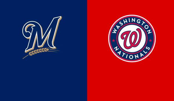 Brewers @ Nationals am 02.10.