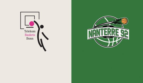 Telekom Baskets Bonn - Nanterre 92 am 23.10.