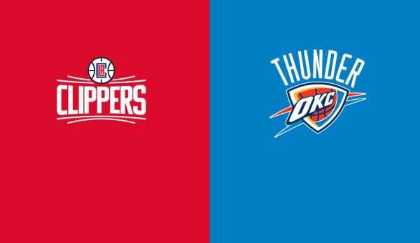 Clippers @ Thunder am 23.12.