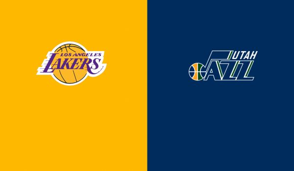 Lakers @ Jazz am 12.01.