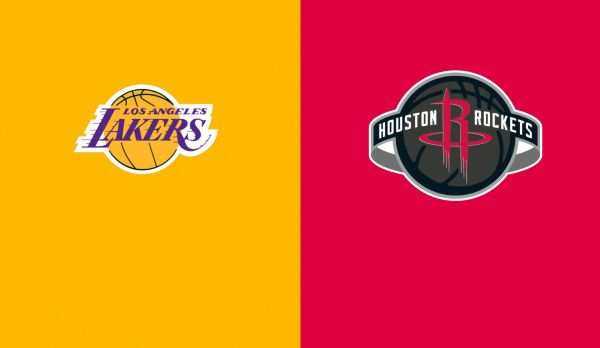 Lakers @ Rockets am 13.01.