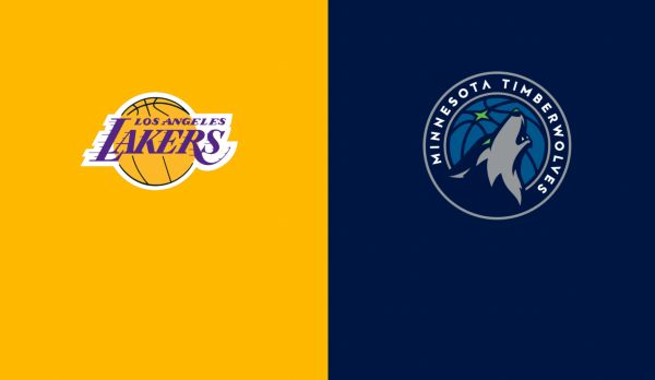 Lakers @ Timberwolves am 06.01.