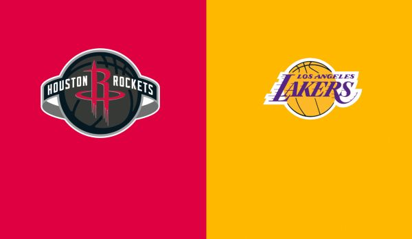 Rockets @ Lakers (Spiel 1) am 05.09.