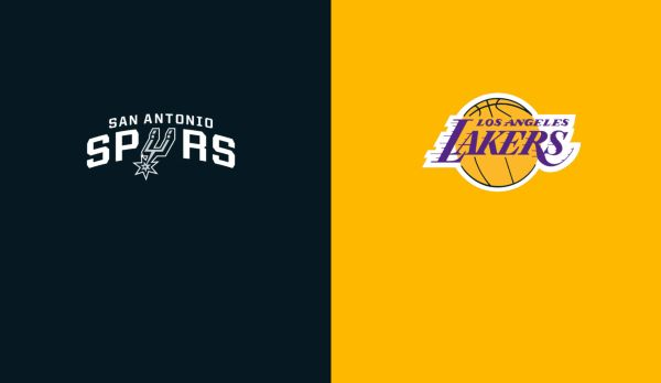Spurs @ Lakers am 23.10.