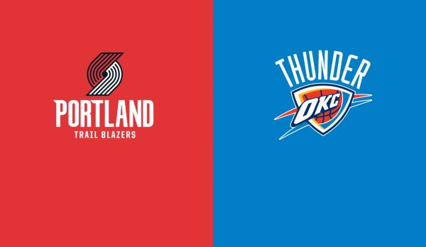 Trail Blazers @ Thunder am 10.01.
