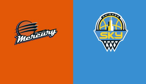 Phoenix Mercury @ Chicago Sky am 12.09.
