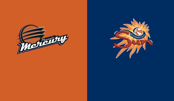 Phoenix Mercury @ Conneticut Sun am 13.07.