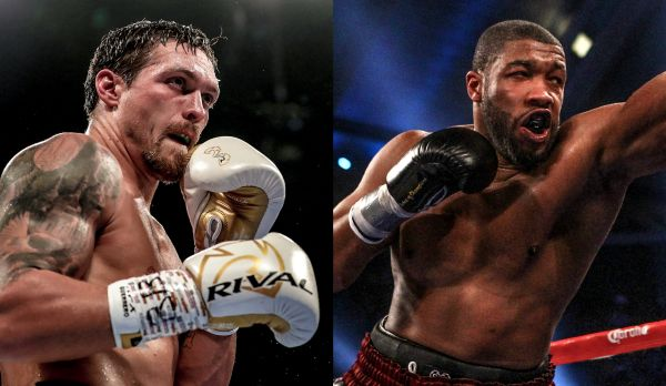 Oleksandr Usyk vs Chazz Witherspoon (Main Card) am 13.10.