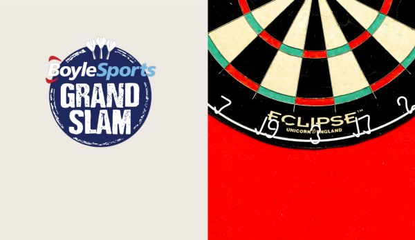Grand Slam of Darts: Finale am 17.11.