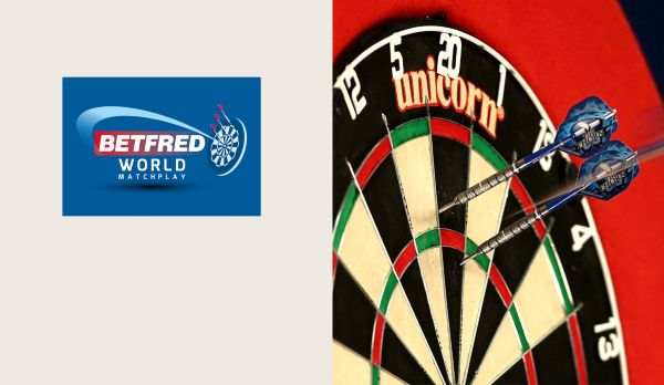 World Matchplay: Tag 2 - Session 1 am 22.07.