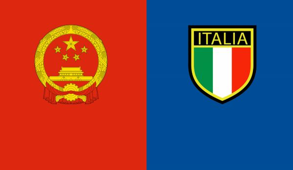 China - Italien am 22.07.