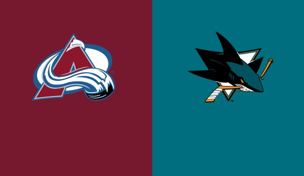Avalanche @ Sharks am 07.04.