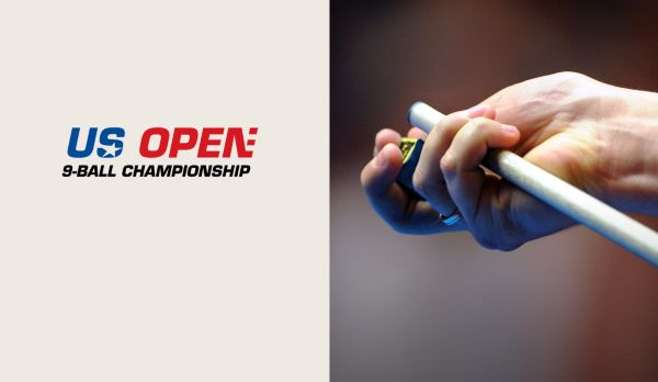 US Open 9-Ball Championship - Tag 1 - Session 1 am 24.04.