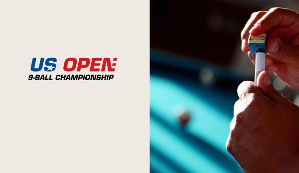 US Open 9-Ball Championship - Tag 2 - Session 1 am 25.04.