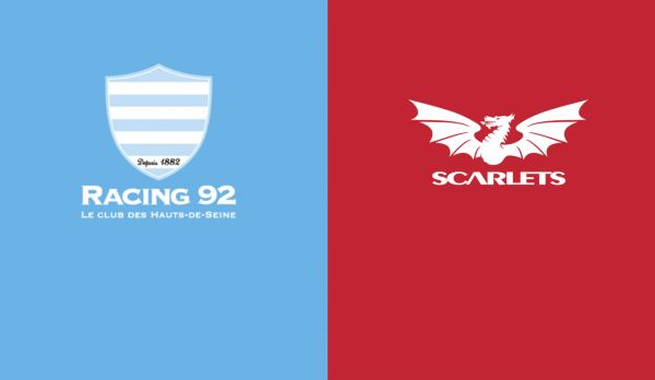 Racing 92 - Scarlets am 19.01.