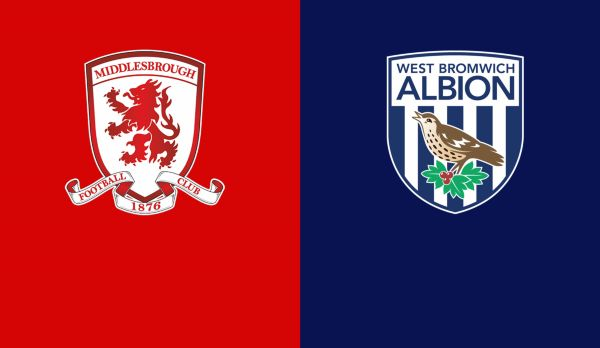 Middlesbrough - West Bromwich am 24.08.