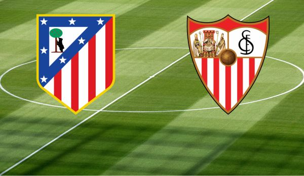 Atletico Madrid - Sevilla am 17.01.