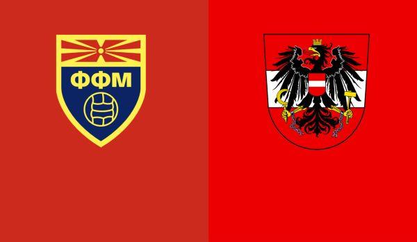 Österreich Nordmazedonien