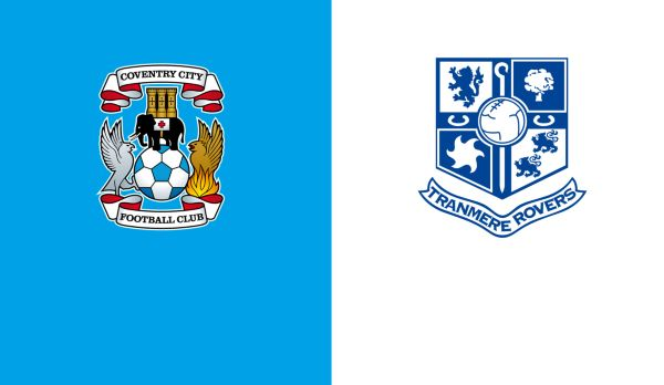 Coventry - Tranmere Rovers am 13.10.