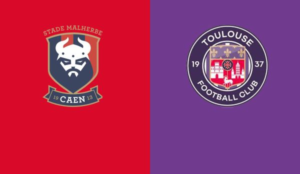 Caen - Toulouse am 25.04.