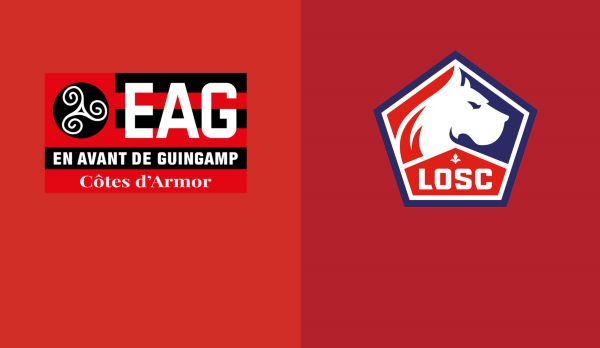 Guingamp - Lille am 10.02.