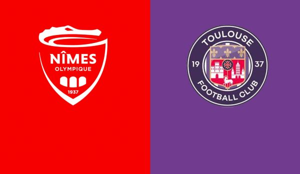 Nimes - Toulouse am 19.01.