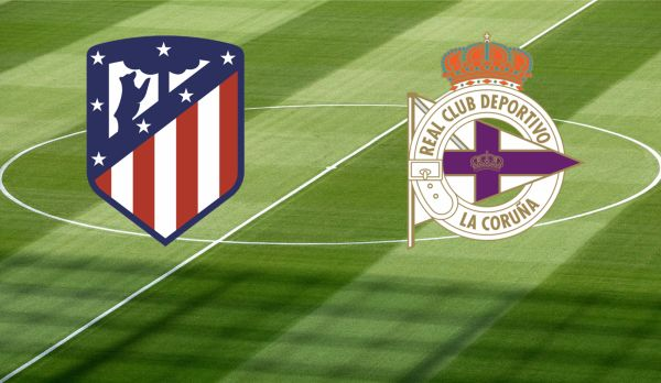 Atletico Madrid - La Coruna am 01.04.
