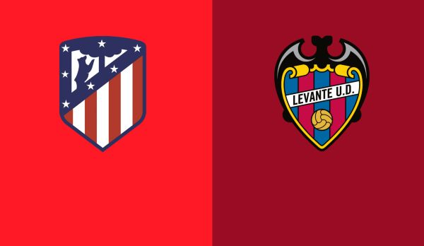 Atletico Madrid - Levante am 13.01.