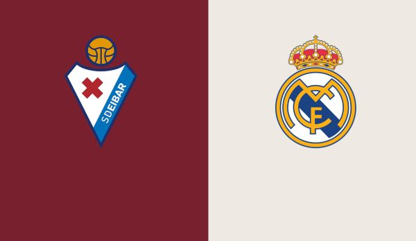 Eibar - Real Madrid am 24.11.